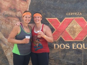 I don't always do two Mudders in one weekend, but when I do, I make sure to do it with my sister in iron.